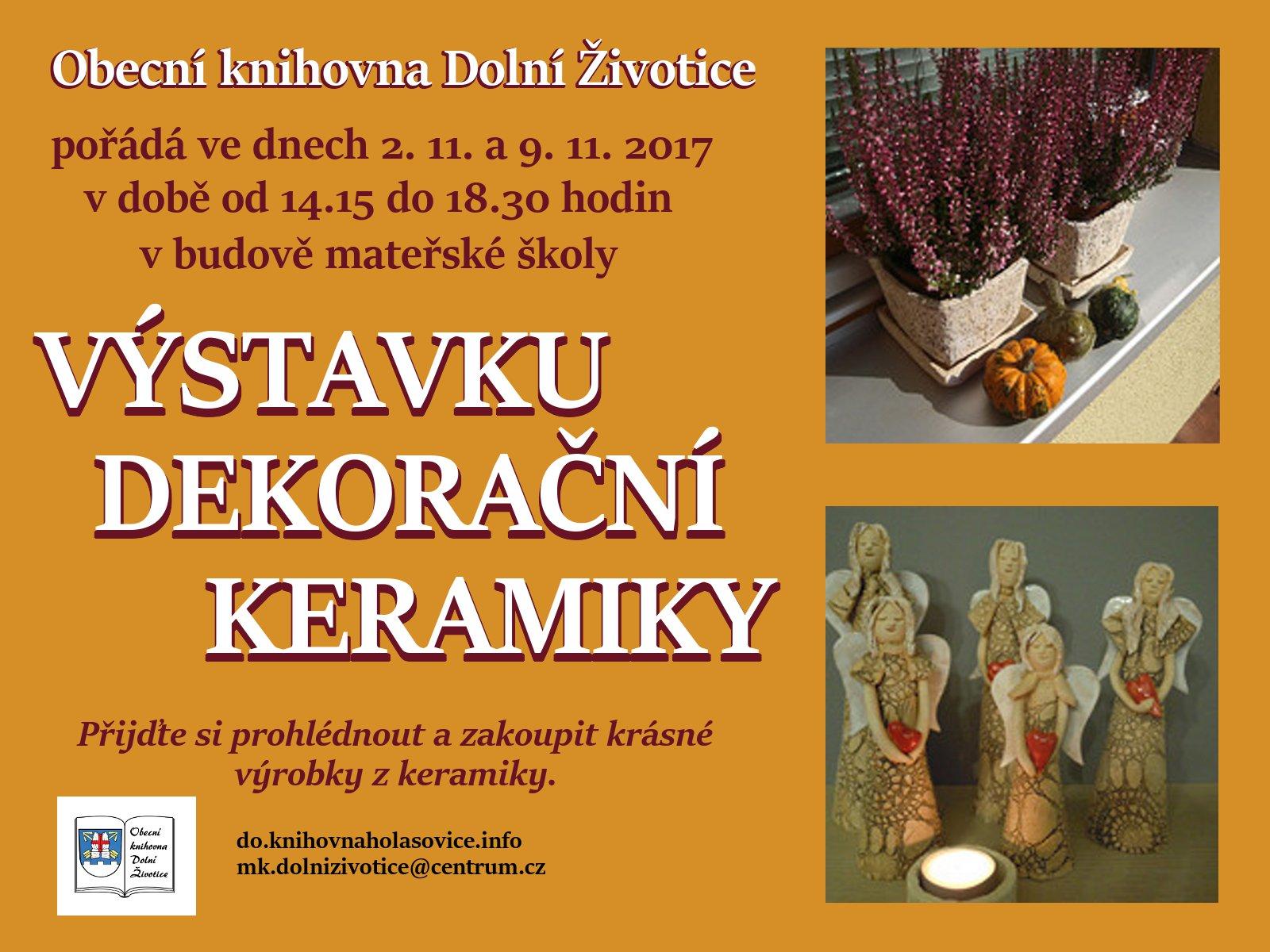 DZ výstava keramiky